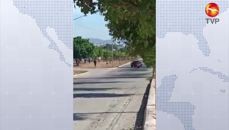 Persecución al norte de la ciudad, hubo disparos entre policías y civiles armados