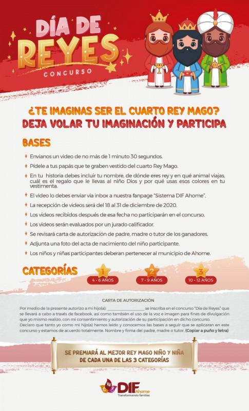El Sistema DIF Ahome invita a los niños ahomenses a ser Reyes Magos y ganar fabulosos premios