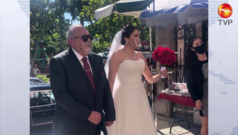 """""""Químico"""" festeja boda de su hija, en plena pandemia"""