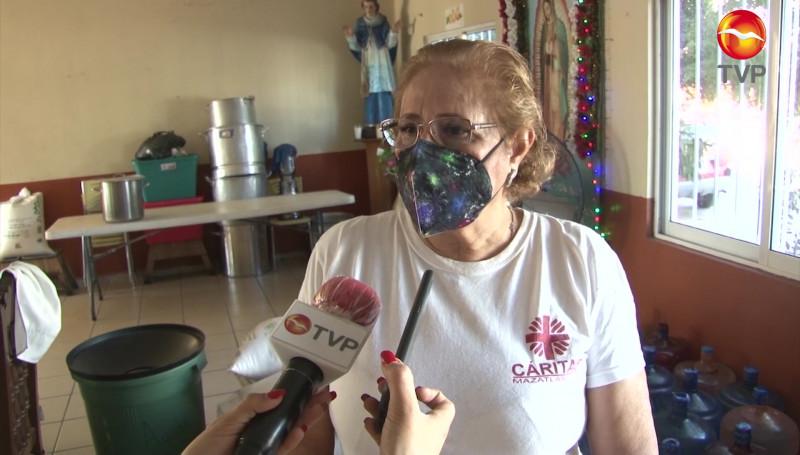 Comedor de Cáritas Mazatlán, el servicio más demandado