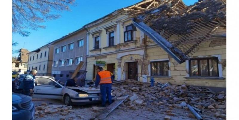 Terremoto de 6.2 grados en Croacia deja varios muertos y heridos