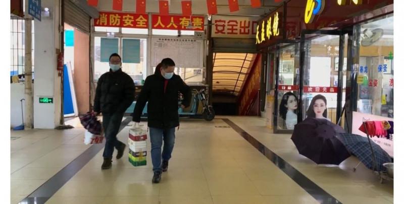 Así luce el mercado de Huanan a un año de que ahí se propagaran los primeros casos de Covid-19