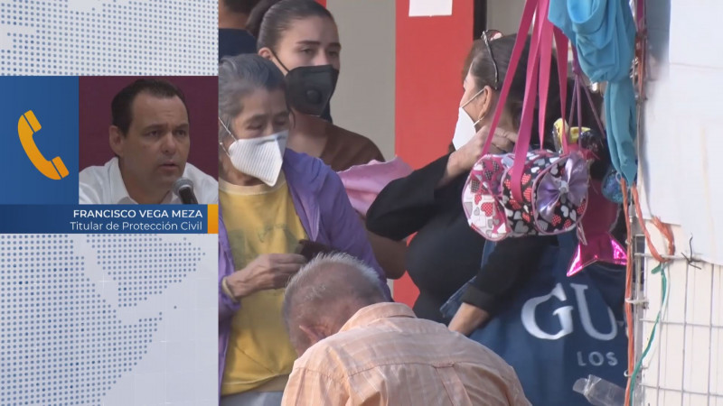 Protección Civil alerta por bajas temperaturas en Sinaloa