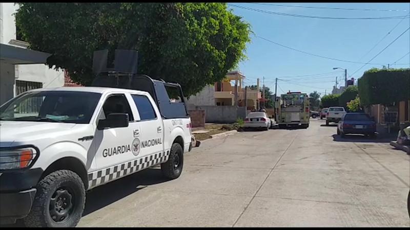 Aseguran combustible en casa de la colonia Burócrata de Mazatlán