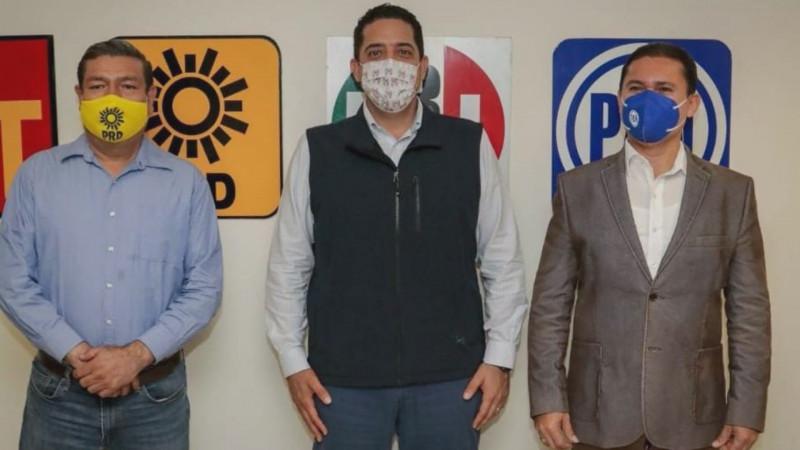 Antes de concluir enero deberán tener los candidatos de la Coalición Va por México en Sinaloa