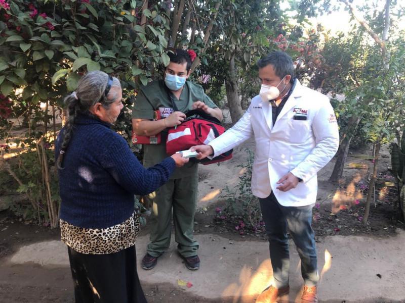 Comunidad el Tule, Ahome recibe Jornada de Salud