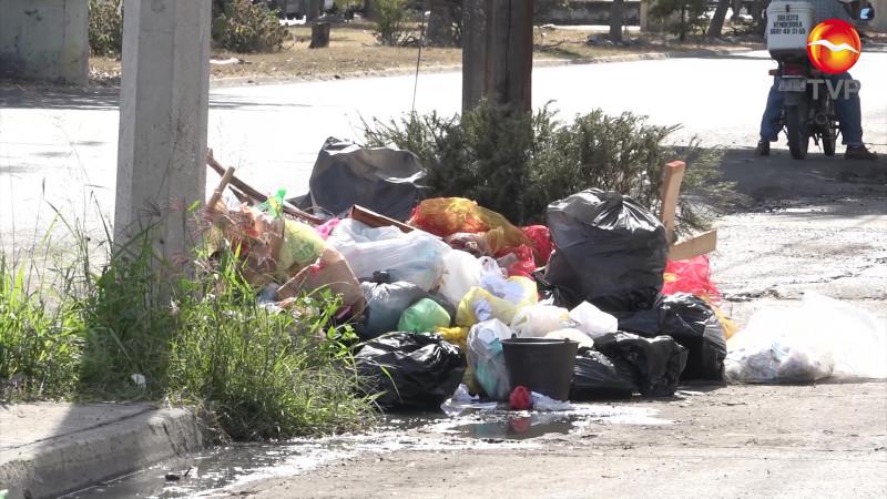 Invade 'plaga', pero de basura en el Infonavit Playas