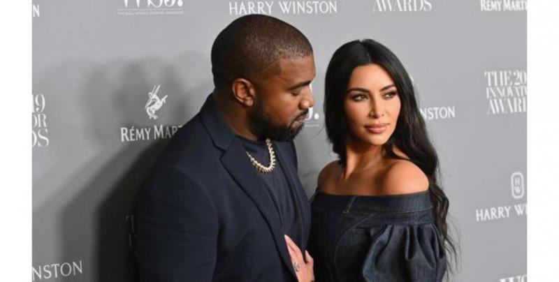 Kanye West y Kim Kardashian están al borde del divorcio, según medios estadounidenses