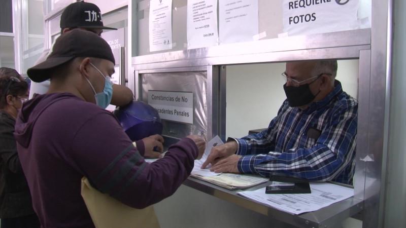 Incrementó la solicitud de cartas de no antecedentes penales en Mazatlán