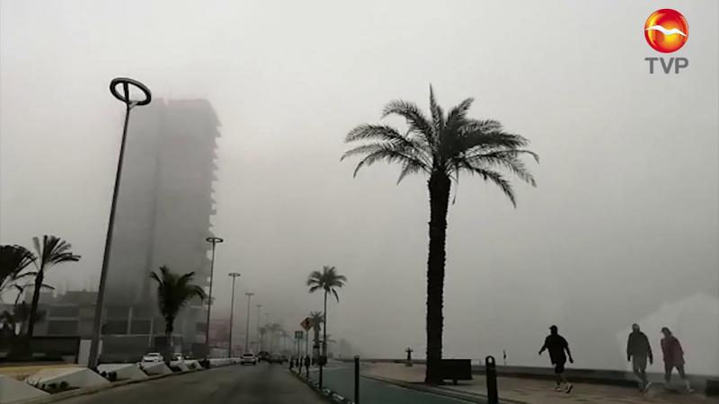 Seguirá Mazatlán con neblina y bajas temperaturas
