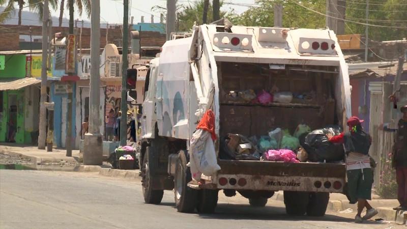 Reportan recolección de basura casi al 100 por ciento
