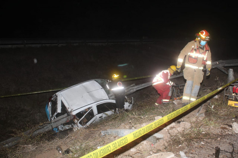 Accidente sobre la Maxipista deja un muerto