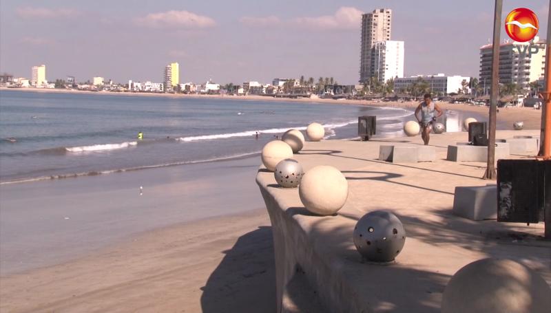 Pocos turistas en Mazatlán durante el segundo domingo del año