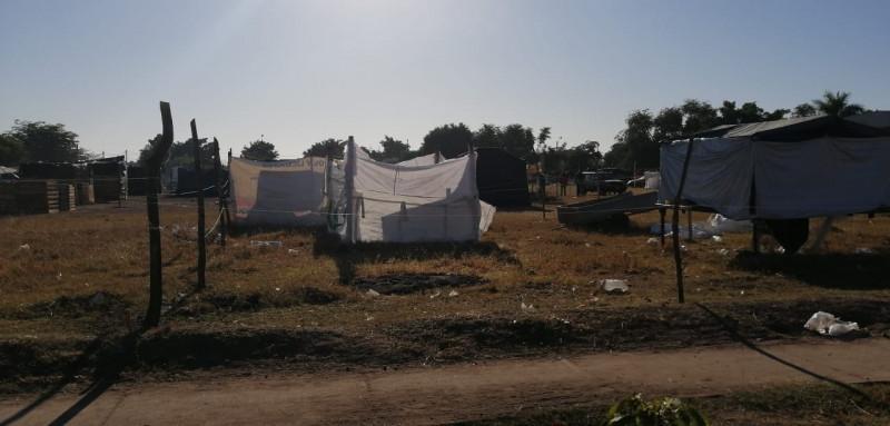 Vecinos de invasión Santa Alicia piden audencia con autoridades de Ahome