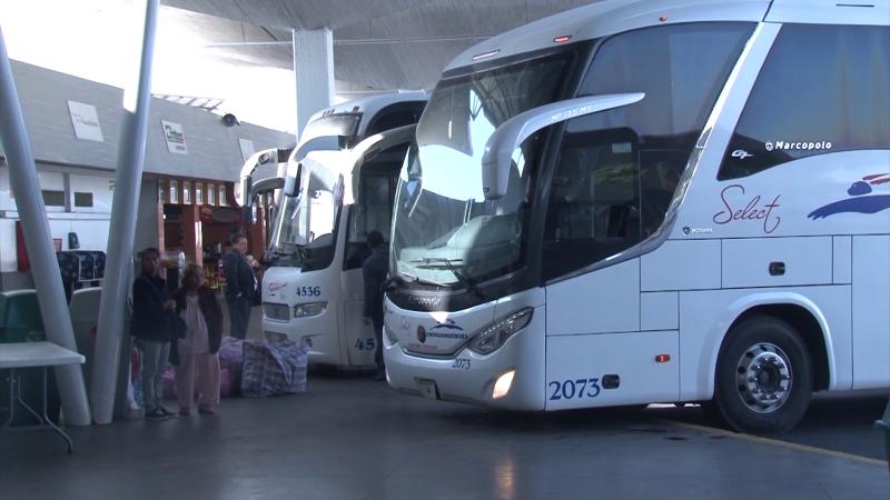 150 Corridas diarias en central camionera de Mazatlán