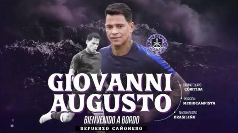 Mazatlán FC anuncia al brasileño Giovanni Augusto
