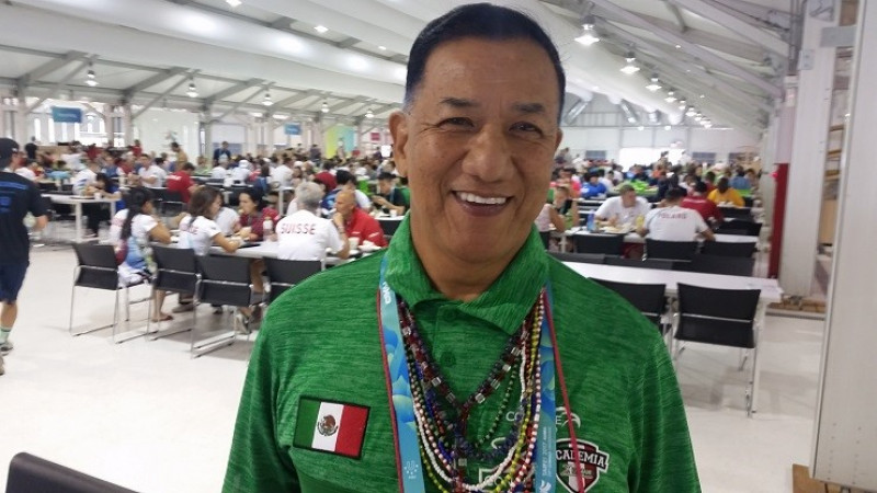 Jorge Huie ratificado como vocal de la federación de halterofilia