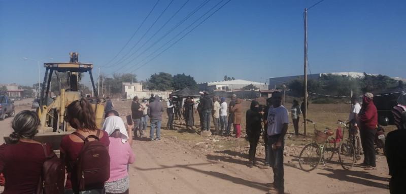 Desalojan con la fuerza pública a precaristas en Los Mochis