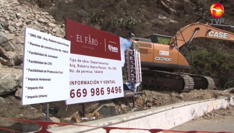 Por encima de la anuencia de vecinos, reactivan demolición en el Cerro del Vigía