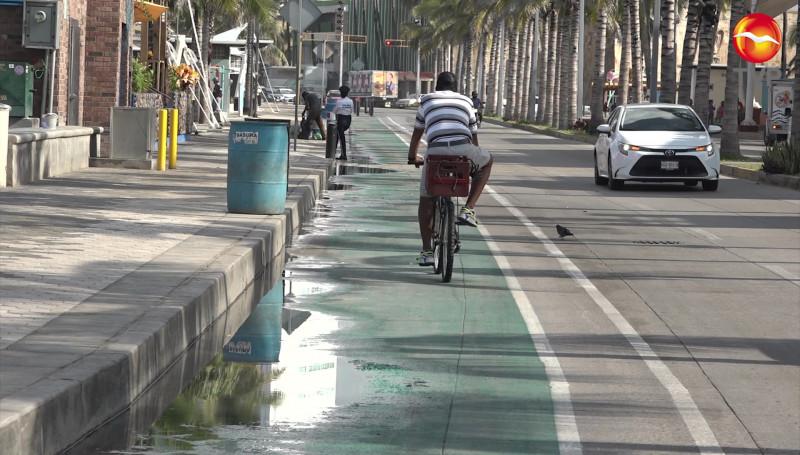 Llaman a usar correctamente las ciclovías