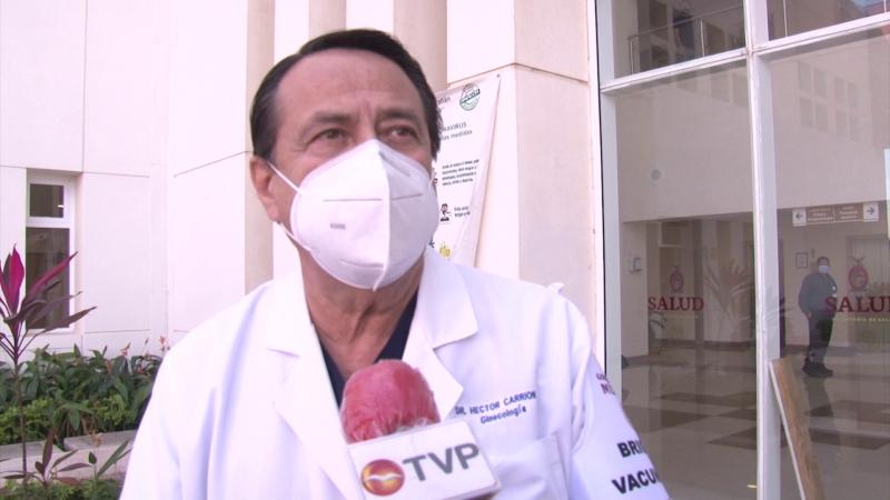 Llegan 205 vacunas contra COVID-19 a Hospital General de Mazatlán