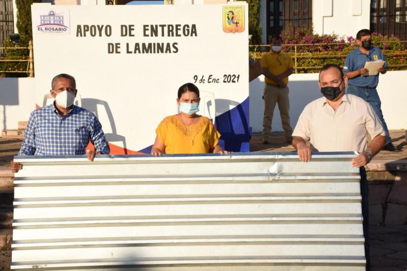 Más de mil apoyos para vivienda entrega municipio de Roasario