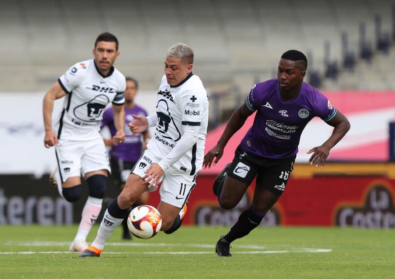 Pumas vence por goleada a Mazatlán FC