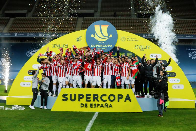 El Athletic vence al Barcelona en la final de la Supercopa