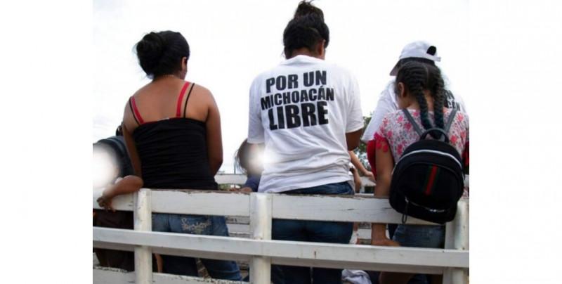 Jóvenes, madres y hasta embarazadas se ven obligadas a tomar las armas para defenderse del CJNG en Michoacán