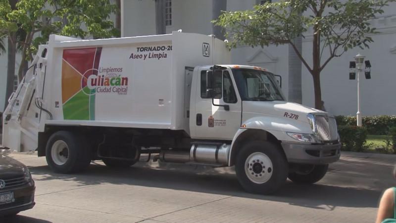Adquiere el Ayuntamiento de Culiacán 3 camiones más recolectores de basura