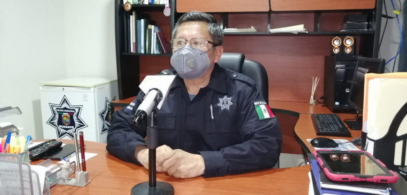 Baja hasta un 75% los indices de seguridad en Guasave