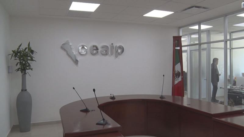 El Congreso del Estado aprobó la donación de terreno para las oficinas de la CEAIP