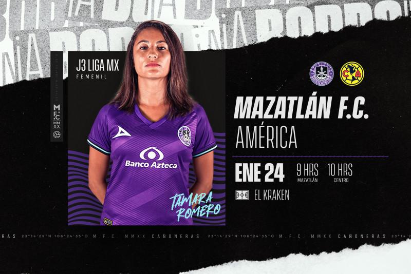 Mazatlán F.C. Femenil continua con la preparación para enfrentar a America