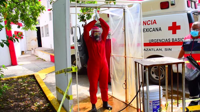En aumento COVID en Mazatlán confirma Cruz Roja