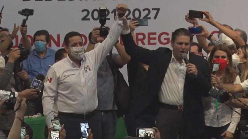 Mario Zamora es el pre candidato a la gubernatura de Sinaloa por la alianza PRI-PAN-PRD