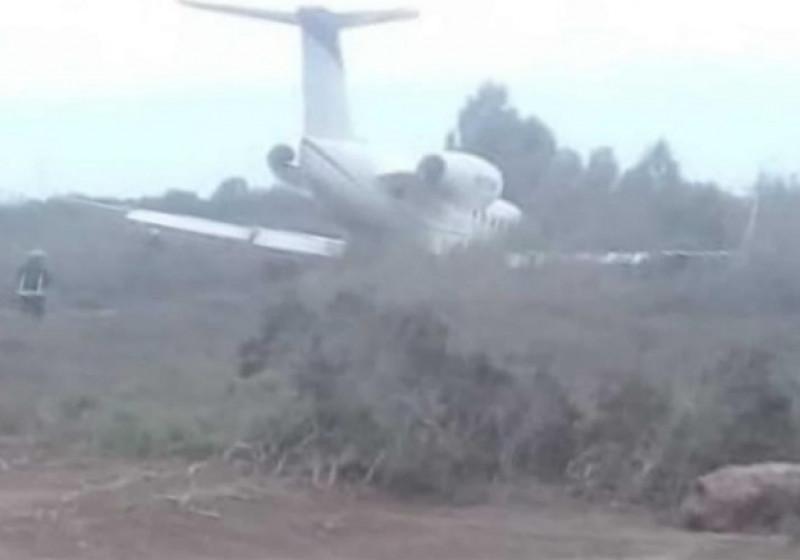 Se accidenta avión en Aeropuerto de Los Mochis