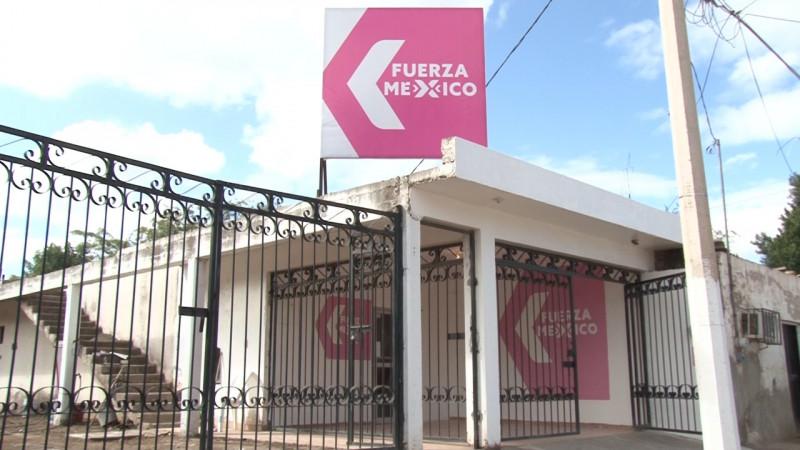 Responde Fuerza por Mexico a presencia de Rogelio Aboyte