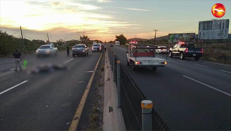 Joven muere atropellado al salir de trabajo en Mazatlán