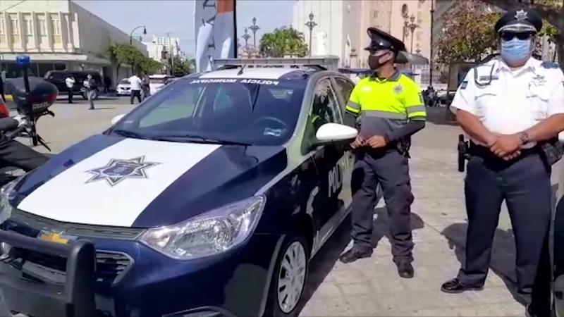 Entregan 4 patrullas nuevas a SSPyTM