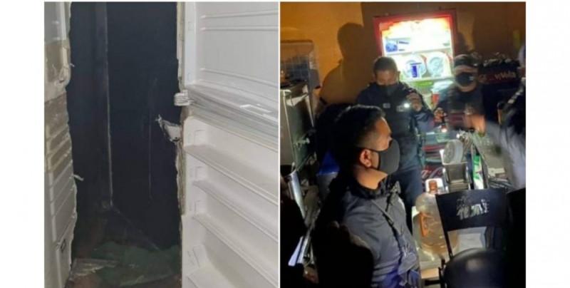 ¡Como en las películas! Encuentran a 25 en bar clandestino de Hidalgo, al que se entraba por refrigerador falso