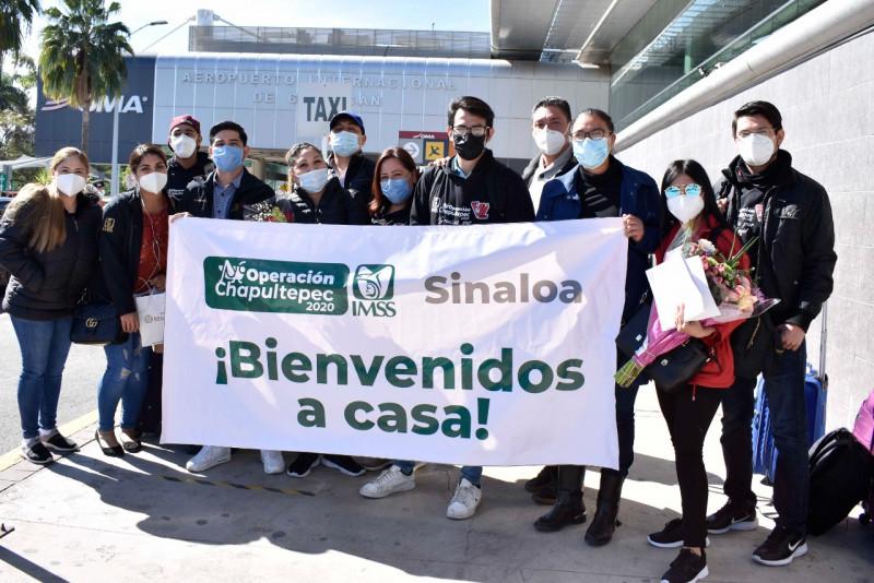 Regresan a Sinaloa brigadistas de Operación Chapultepec