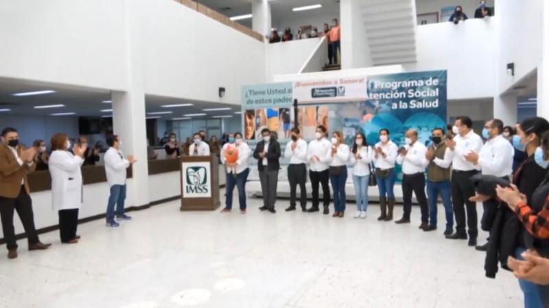 Regresa delegación sonorense del IMSS que apoyó la pandemia en el centro del país
