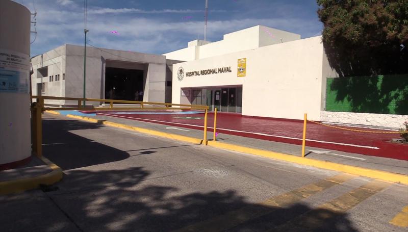 Al 58% remodelación del Hospital Naval de Mazatlán