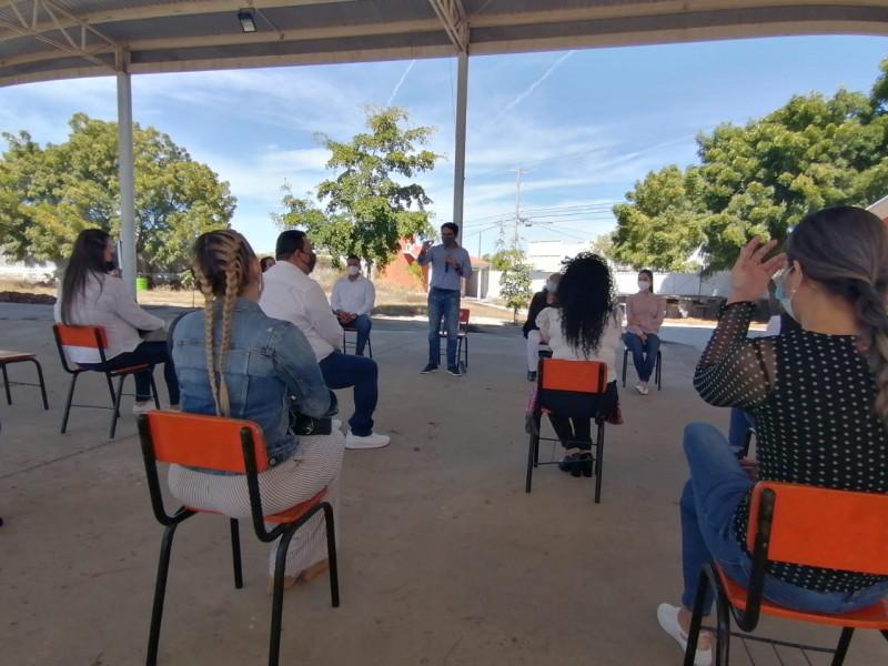 Podrían abrir escuelas en municipios color amarillo de Sinaloa