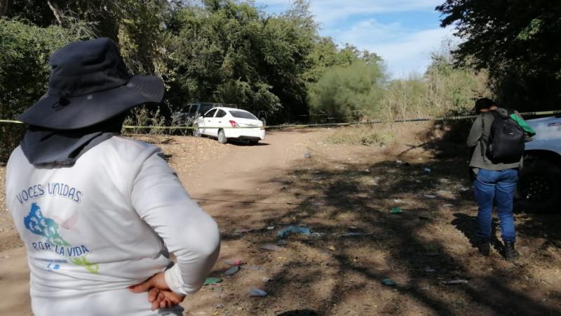 Rastreadoras localizan restos óseos en San Pedro Navolato