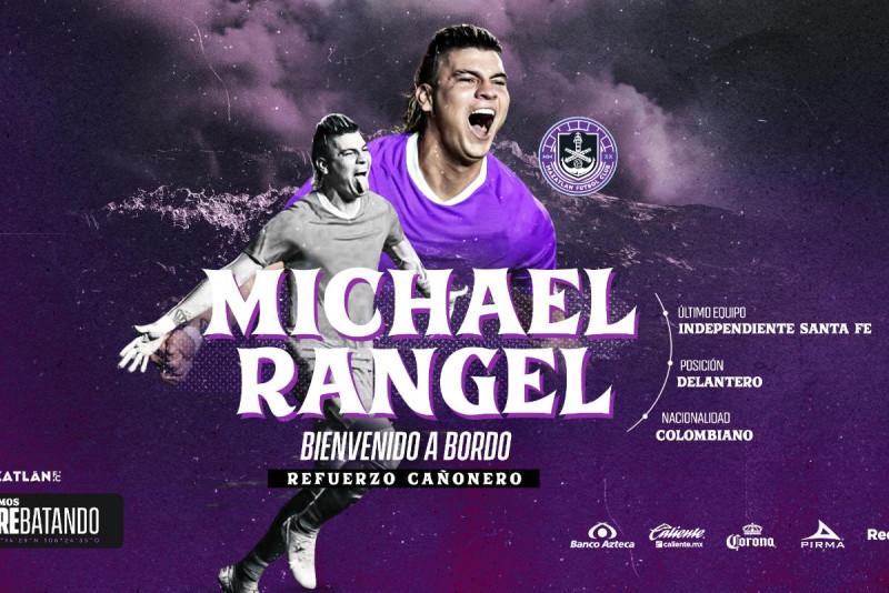 Michael Rangel refuerzo de último momento de Mazatlan FC
