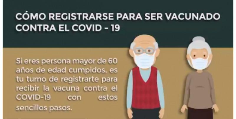 Así puedes registrar a los adultos mayores para que reciban su vacuna de Covid-19