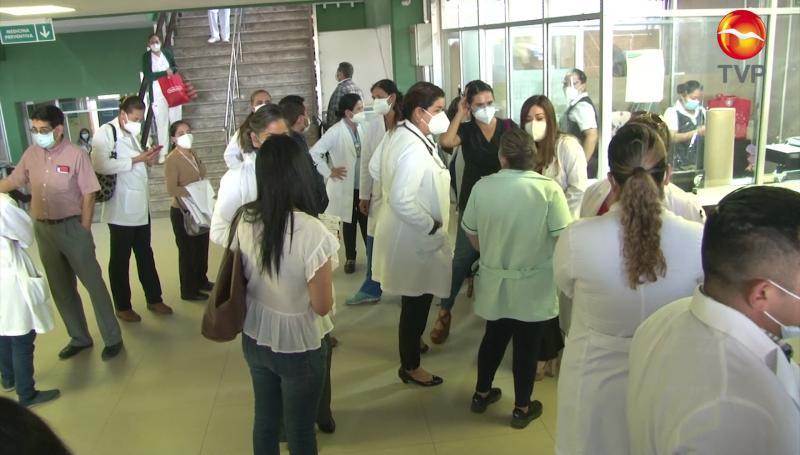 Personal del IMSS Mazatlán exige ser vacunado