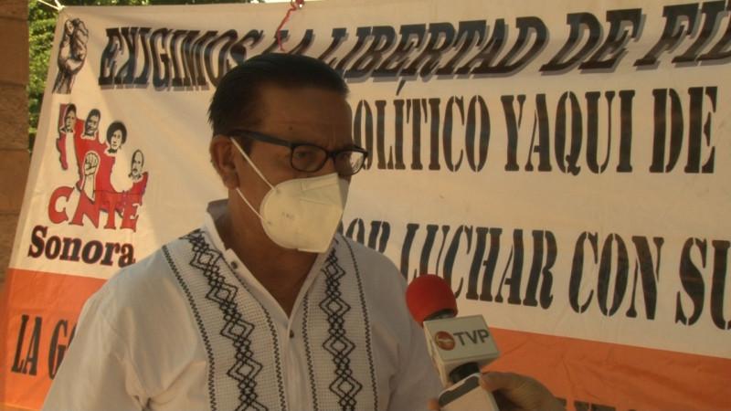 Lamentan deceso de Profesor Guadalupe Valenzuela de la CNTE