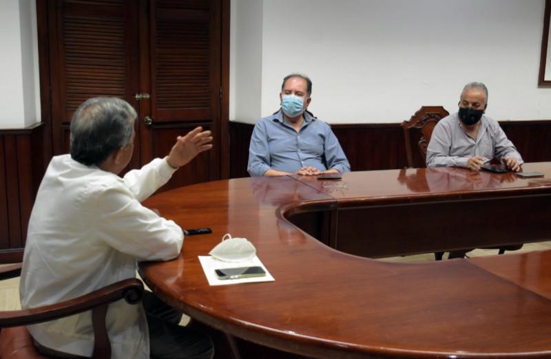 Firman convenio Ayuntamiento de Culiacán y CONAGUA